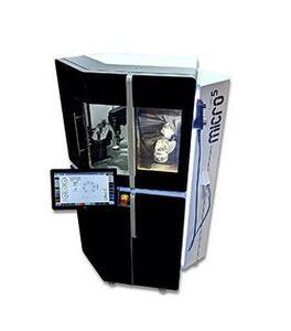 Micro5 – kompaktes 5-Achs-Bearbeitungszentrum für die Hochgeschwindigkeitszerspanung mikrotechnischer Komponenten.