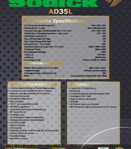Sodick ADL 35